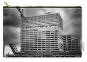 Chicago Sun Times Facade After The Storm Bw Carry-all Pouch