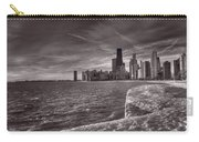 Chicago Sunrise Bw Carry-all Pouch
