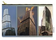 Chicago Tall Shoulders Trump Sears 333 Wacker Triptych 3 Panel 03 Carry-all Pouch