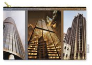 Chicago Tall Shoulders Trump Sears Tribune Triptych 3 Panel 02 Carry-all Pouch