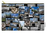 Chicago The Bean Collage Carry-all Pouch