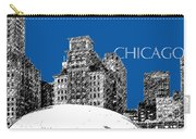 Chicago The Bean - Royal Blue Carry-all Pouch