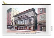Chicago - The Illinois Theatre - East Jackson Boulevard - 1910 Carry-all Pouch