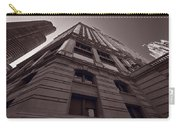 Chicago Towers Bw Carry-all Pouch