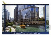 Chicago Transportation Triptych 3 Panel Hdr 01 Carry-all Pouch