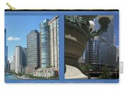 Chicago Trump Tower Under Const 2 Panel Carry-all Pouch