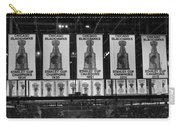 Chicago United Center Banners Bw Carry-all Pouch