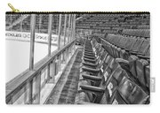 Chicago United Center Before The Gates Open Blackhawk Seat One Bw Hdr Carry-all Pouch