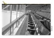Chicago United Center Before The Gates Open Blackhawk Seat One Bw Carry-all Pouch