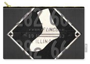 Chicago White Sox Baseball Vintage Logo License Plate Art Carry-all Pouch