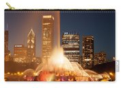 Chicago's Buckingham Fountain Carry-all Pouch