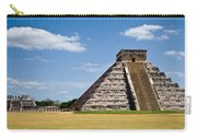 Chichen Itza And Columns Carry-all Pouch