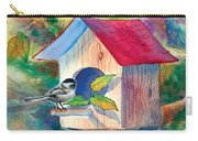 Chickadee Bungalow Carry-all Pouch