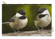 Chickadee Dee Dee Carry-all Pouch by Jean Noren
