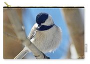 Chickadee On A Bright Day  Carry-all Pouch