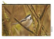 Chickadee On Alert Carry-all Pouch