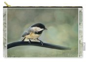 Chickadee With Frame  Carry-all Pouch