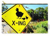 Chicken Crossing Carry-all Pouch