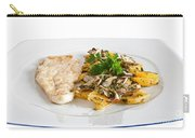 Chicken Escalope With Potatoes And Mushroom Carry-all Pouch