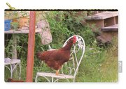 Chicken In The Chair Carry-all Pouch