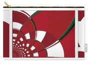 Chicken Little Crossed The Road - Abstract - Triptych Carry-all Pouch