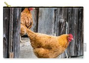 Chickens At The Barn Carry-all Pouch
