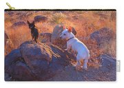 Chico And Paco The Mountain Dogs Carry-all Pouch