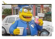 Chief Clancy Wiggum From The Simpsons Carry-all Pouch