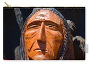 Chief Looking Carry-all Pouch