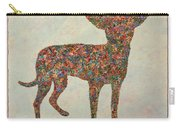 Chihuahua-shape Carry-all Pouch by James W Johnson