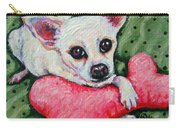 Chihuahua Who Came To Visit Carry-all Pouch