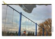 Child On Swing Carry-all Pouch