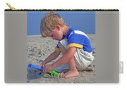 Childhood Beach Play Carry-all Pouch