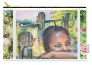 Childhood Triptic Carry-all Pouch