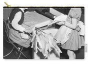 Children Doing Housework Carry-all Pouch