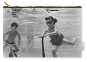 Children Playing Under Water Carry-all Pouch