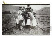 Children With Camera, C1900 Carry-all Pouch