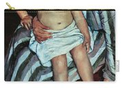 Child's Bath Carry-all Pouch by Mary Cassatt