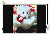 Child's Teddy Bear Carry-all Pouch