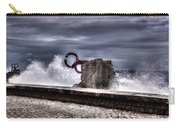 Chillidas Comb Of The Wind In San Sebastian Basque Country Spain Carry-all Pouch