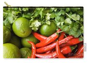 Chillies And Limes Carry-all Pouch