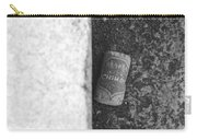 Chimay Wine Cork In Black And White Carry-all Pouch