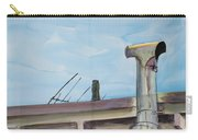 Chimney Pipe And Berkeley Sky Carry-all Pouch