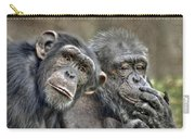 Chimp Couple Carry-all Pouch