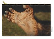 Chimpanzee Foot Carry-all Pouch