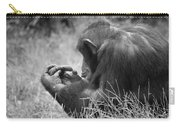 Chimpanzee In Thought Carry-all Pouch