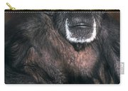 Chimpanzee Portrait Endangered Species Wildlife Rescue Carry-all Pouch