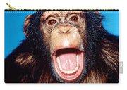 Chimpanzee Portrait Carry-all Pouch