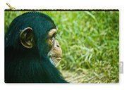 Chimpanzee Profile Carry-all Pouch