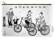 China Bicyclists, C1900 Carry-all Pouch